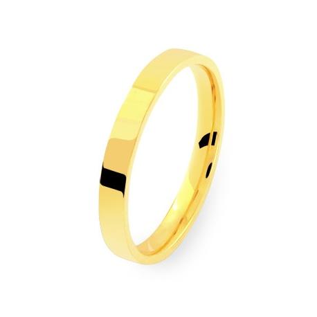alliance ruban 25 en or jaune